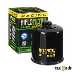 Filtr oleju HifloFiltro HF303RC, HONDA/ KAWASAKI/ YAMAHA (RACING) NAKRĘTKA 17MM