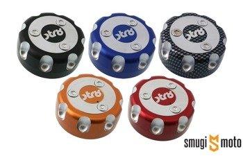 Korek wlewu paliwa STR8, aluminiowy, Derbi Senda (różne kolory)