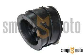 Króciec / łącznik gumowy, gaźnik - króciec, Derbi GPR / Mulhacen / Senda R/SM / Terra 125 4T