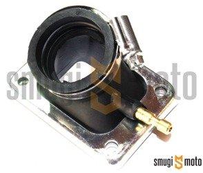 Króciec ssący RQ, d.32mm, Derbi EBS / D50B0 (Dell'Orto VHST Ø21-28mm, PWK Ø21-28mm)