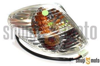 Lampa tylna z kierunkowskazem, biała, Piaggio X9 125-500 / X9 Evolution 125-500 (E) (prawa / lewa)