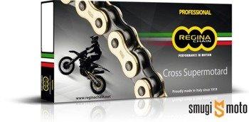 Łańcuch napędowy Regina Motocross, złoty 520RH2 - 118 ogniw (do 500cc)