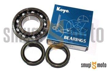 Łożyska wału i uszczelniacze SMG Racing Metal, Aprilia RS / RX 125, Rotax 122 / 123 (Koyo + Corteco)