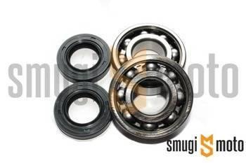 Łożyska wału i uszczelniacze SMG Racing Metal, Derbi EBS / D50B0 (SKF + Corteco)