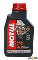 Olej Motul 710 2T, 1 litr (100% syntetyk)