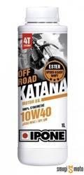 Olej silnikowy Ipone Katana Off Road 10W40 4T, 100% syntetyk, ESTER, MA2 (różne pojemności)