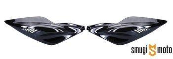 Owiewka boczna TNT, czarny metalic, Yamaha Aerox (prawa / lewa)