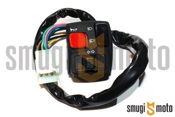 Przełącznik zespolony Mokix, lewy, Rieju MRX / SMX / RS2 / RR Sport, Derbi Senda DRD