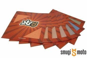 Siatka aluminiowa STR8, drobne otwory, 30x30cm (różne kolory)