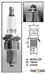 Świeca zapłonowa Brisk Multi-Spark BR9E