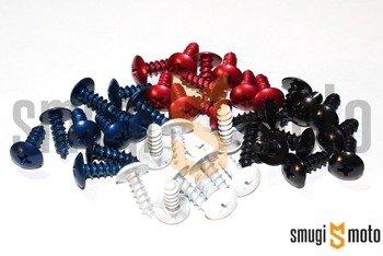Wkręty do owiewek Mokix 5x15mm, 10 szt (różne kolory)