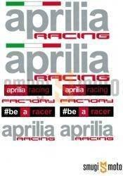 Zestaw naklejek Aprilia Racing 24x20 cm