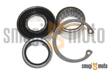 Zestaw naprawczy piasty przedniego koła, Piaggio MP3 300-500 (Łożyska + uszczelniacz)
