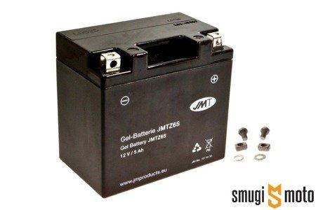 Akumulator żelowy JMT YTZ6S 5Ah (np. Honda CBR 125) + kaucja za stary akumulator