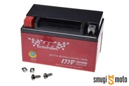 Akumulator żelowy WTX7A-BS (YTX7A-BS) 150x87x94