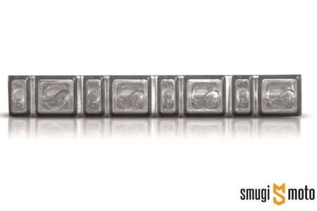 Ciężareki do wyważania Hofmann, klejony ołowiany do felg aluminiowych 50szt.(4x5g + 4x10g)