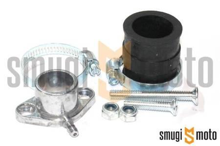 Kit montażowy (adapter) do gaźników Dellorto, Peugeot stojący (na wcisk)