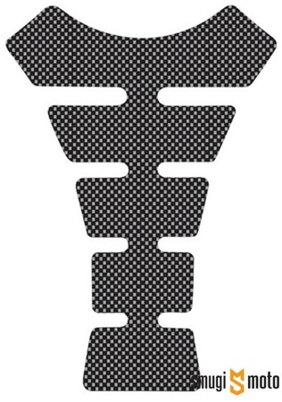 Naklejka na zbiornik Oxford, Tankpad Spine Carbon